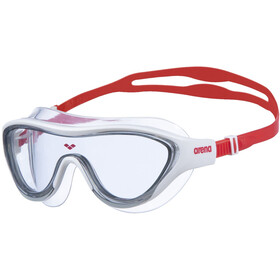 arena The One Mask light smoke/white/red